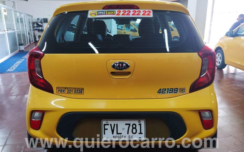 Taxi Kia mod. 2020 con poco kilometraje